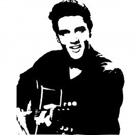 Autocolante Música - Elvis Presley