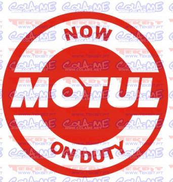 Autocolante - Now motul on duty