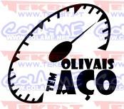 Autocolante - Olivais tem aço