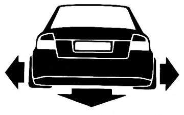 Autocolante para Audi A4 B6