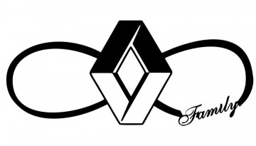 Autocolante para Renault Family