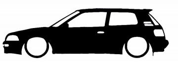 Autocolante para Toyota corolla E90