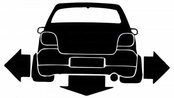 Autocolante para Toyota Yaris