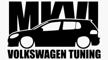 Autocolante para Volkswagen mk6 tuning