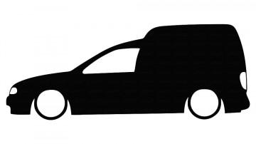 Autocolante para VW Caddy 2