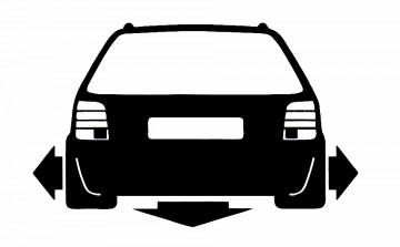 Autocolante para VW Passat 3B
