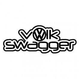 Autocolante - Volk Swagger