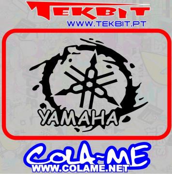 Autocolante - Yamaha Mancha