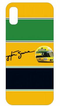 Capa de telemóvel com Ayrton Senna