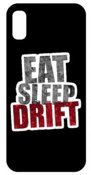 Capa de telemóvel com EAT SLEEP DRIFT