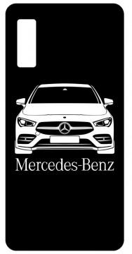 Capa de telemóvel com Mercedes cla