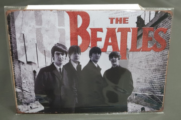 Chapa decorativa com The Beatle