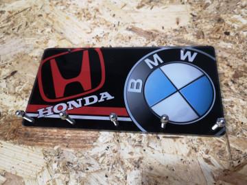 Chaveiro em Acrílico com Honda e BMW