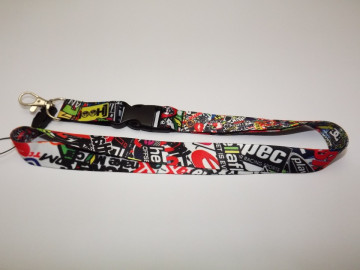 Fita Porta Chaves com Sticker Bomb Padrão 7