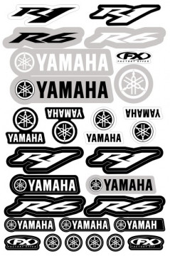 Folha / Pack de Autocolantes - Yamaha