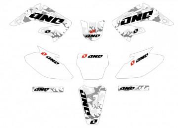 Kit Autocolantes Para  Honda CR 125-250 02-07