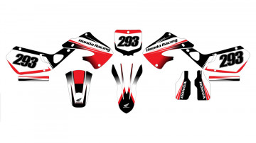 Kit Autocolantes Para Honda CR 125 - 250 97-99