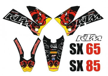 Kit Autocolantes Para KTM SX 65 / 85
