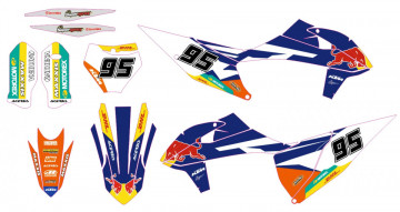 Kit Autocolantes Para KTM SX SXF 2019 2020