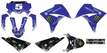 Kit Autocolantes Para Yamaha XT 125