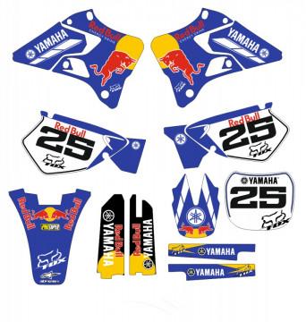 Kit Autocolantes Para Yamaha YZ 125-250 96-01