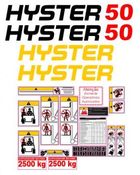 Kit de Autocolantes para HYSTER 50