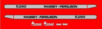 Kit de Autocolantes para Massey Ferguson 5290