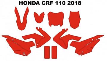 Molde - HONDA  CRF 110 2018