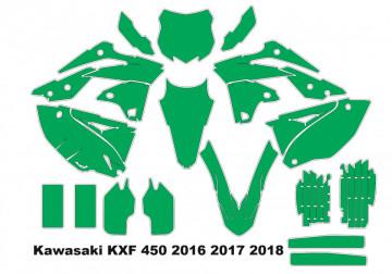 Molde - Kawasaki KXF 450, 2016 2017 2018