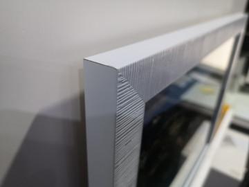 Moldura Branca com foto impressa em placa PVC - Foto do cliente