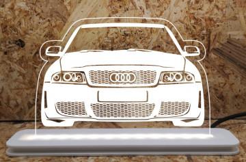 Moldura / Candeeiro com luz de presença - Audi A4 B5