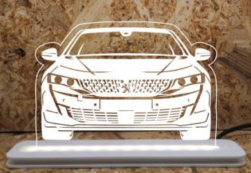 Moldura / Candeeiro com luz de presença - Peugeot 508