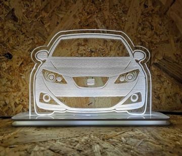 Moldura / Candeeiro com luz de presença - Seat Ibiza 6J
