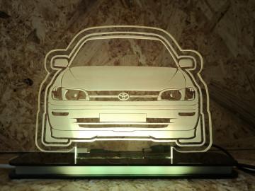 Moldura / Candeeiro com luz de presença - Toyota Corolla E10