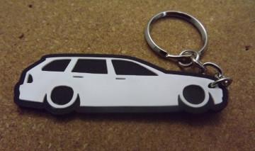 Porta Chaves com silhueta de BMW E46 Touring - Série 3