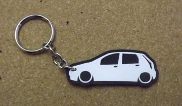 Porta Chaves com silhueta de Fiat Punto MK2