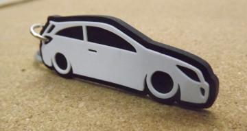 Porta Chaves com silhueta de Opel Astra H