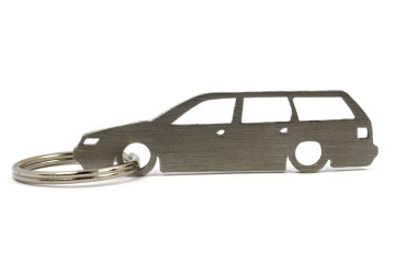 Porta Chaves em inox com silhueta com Volkswagen Passat B4 wagon