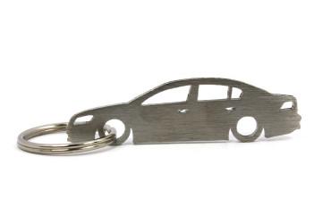 Porta Chaves em inox com silhueta com Volkswagen Passat B7