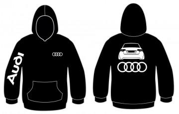 Sweatshirt com capuz para Audi A4 B7
