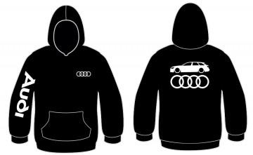 Sweatshirt com capuz para Audi A6 C7 Avant
