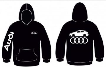 Sweatshirt com capuz para Audi Q3