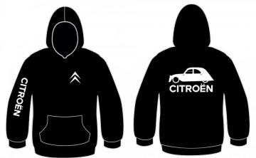 Sweatshirt com capuz para Citroen 2CV