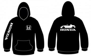 Sweatshirt com capuz para Honda Del Sol