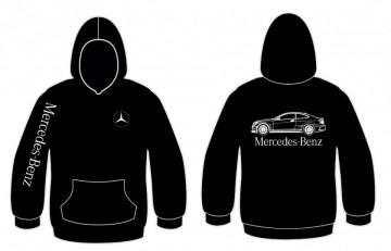 Sweatshirt com capuz para Mercedes-Benz C63