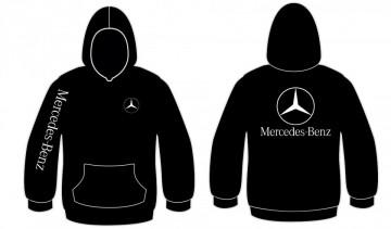 Sweatshirt com capuz para Mercedes Benz