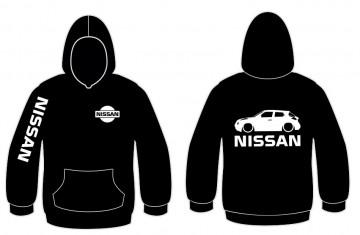Sweatshirt com capuz para Nissan Juke Lateral