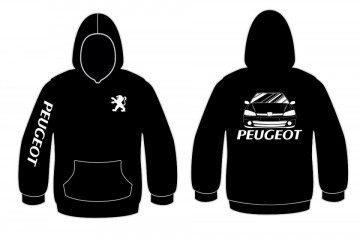Sweatshirt com capuz para Peugeot 106 mk2