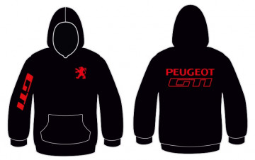 Sweatshirt com capuz para Peugeot GTI