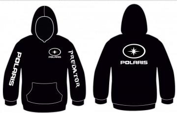 Sweatshirt com capuz para Polaris Predator
